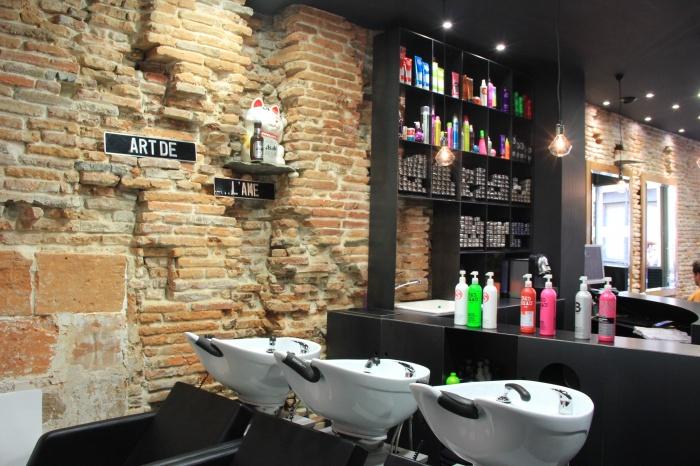 Architectes transformation appartement t2 en for Interieur salon de coiffure