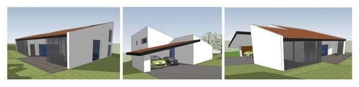 Architectes maison hb r gion toulousaine for Hb architectes