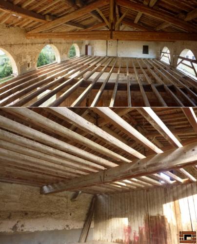 Aménagement d'un Loft dans une grange