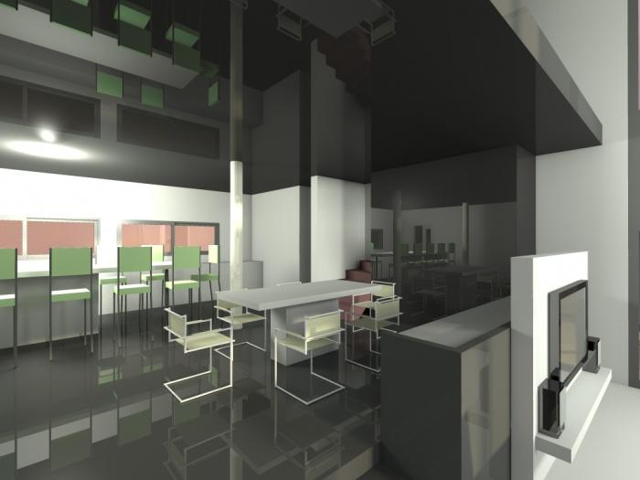 villa contemporaine : 2