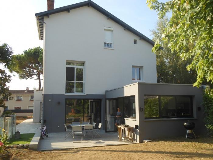 Restructuration et rénovation complète Villa côte pavé