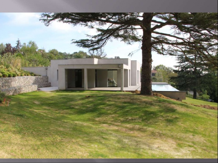 Maison contemporaine toulouse une r alisation de for Realisation maison contemporaine