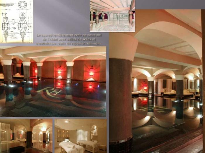 hôtel de luxe et spa ... : spa 1