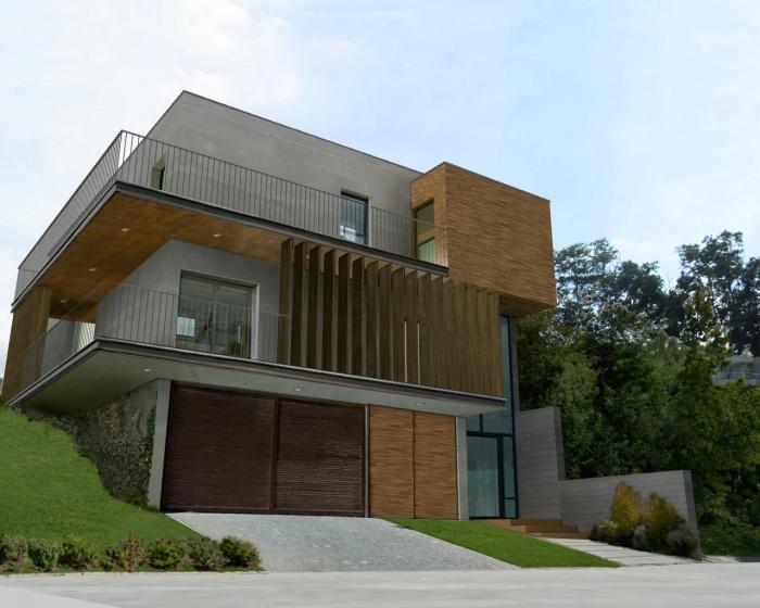 architectes maison cocon int rieur ext rieur lumineuse et traversante muret. Black Bedroom Furniture Sets. Home Design Ideas
