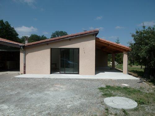 Tranformation d'un garage en habitation - Rieumes