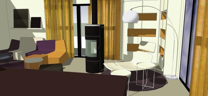 Aménagement salon et mobilier sur mesure : 11