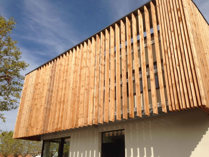 Construction de l'antenne de la Chambre de Métiers et de l'Artisanat Haute Qualité Environnementale : Chambre des Métiers5