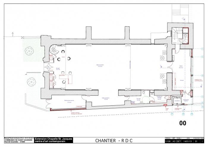 Réhabilitation et extension du centre d'art contemporain La Chapelle St-Jacques : 130225CHANTIER Chapelle SJ v2012_Page_02