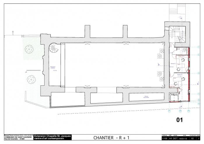 Réhabilitation et extension du centre d'art contemporain La Chapelle St-Jacques : 130225CHANTIER Chapelle SJ v2012_Page_03