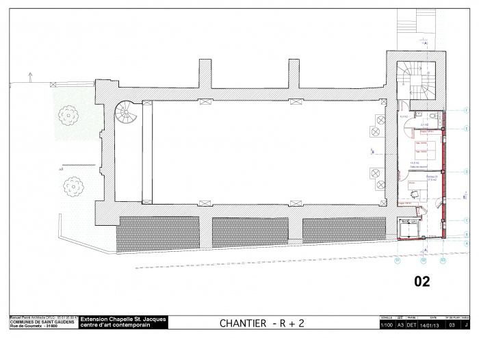 Réhabilitation et extension du centre d'art contemporain La Chapelle St-Jacques : 130225CHANTIER Chapelle SJ v2012_Page_04