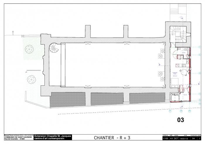 Réhabilitation et extension du centre d'art contemporain La Chapelle St-Jacques : 130225CHANTIER Chapelle SJ v2012_Page_05