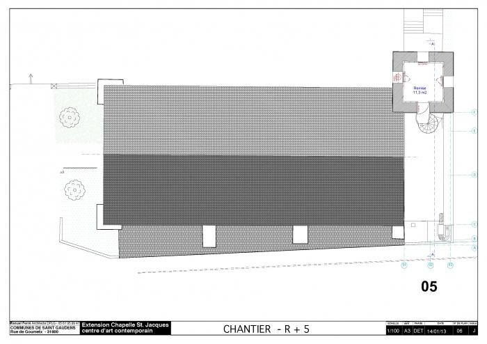 Réhabilitation et extension du centre d'art contemporain La Chapelle St-Jacques : 130225CHANTIER Chapelle SJ v2012_Page_07