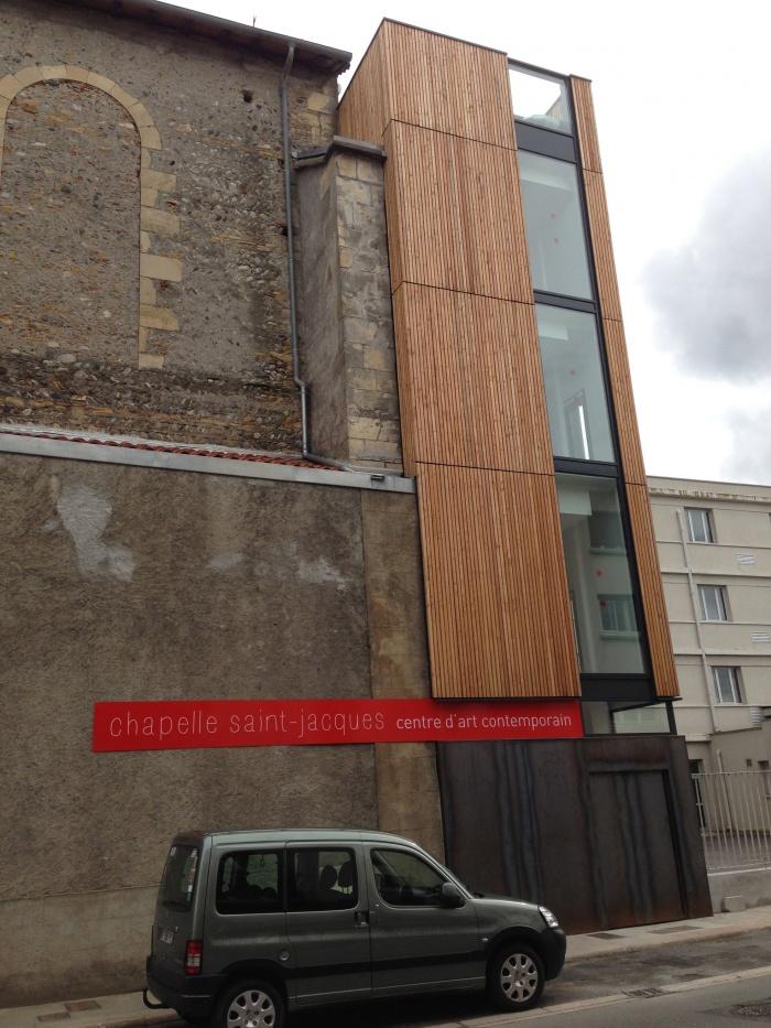 Réhabilitation et extension du centre d'art contemporain La Chapelle St-Jacques : IMG_4252
