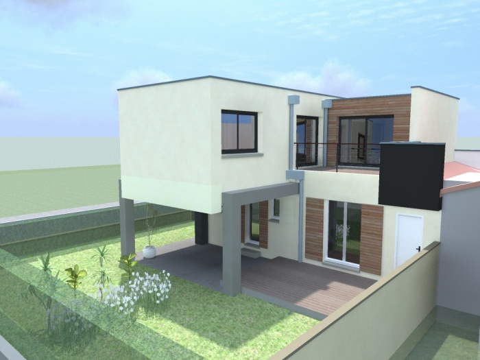 architectes r novation d une grange en logement individuel 31 montberaud. Black Bedroom Furniture Sets. Home Design Ideas
