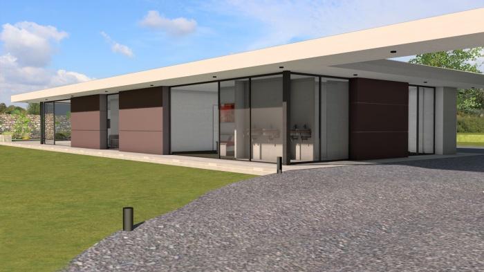 Villa contemporaine aux lignes épurées : villa-luxe-maison-architecture-epuree-lignes-horizontales-2