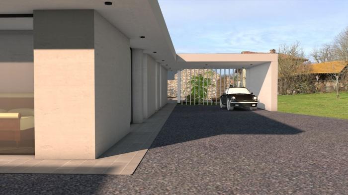 Villa contemporaine aux lignes épurées : villa-luxe-maison-architecture-epuree-lignes-horizontales-4