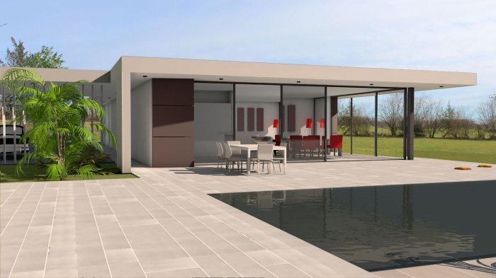 Villa contemporaine aux lignes épurées : villa-luxe-maison-architecture-epuree-lignes-horizontales-5