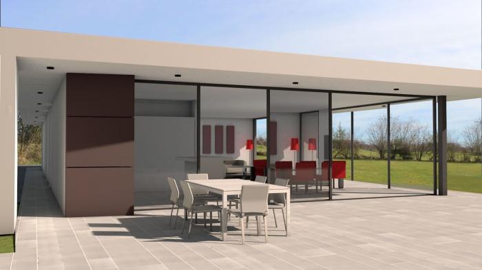 Villa contemporaine aux lignes épurées : villa-luxe-maison-architecture-epuree-lignes-horizontales-6