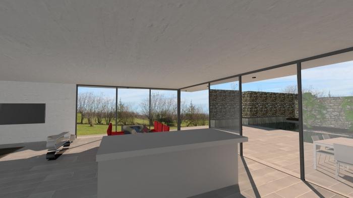 Villa contemporaine aux lignes épurées : villa-luxe-maison-architecture-epuree-lignes-horizontales-10
