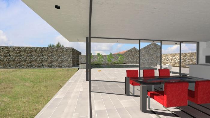 Villa contemporaine aux lignes épurées