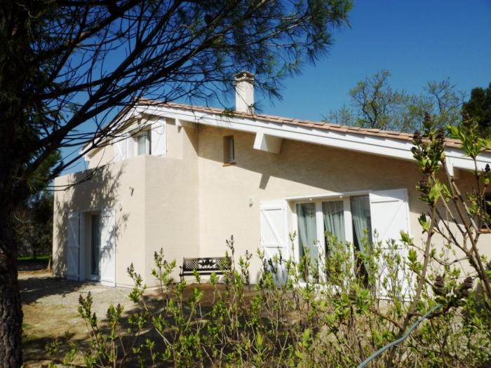 Extension de maison à Carcassonne : Façade jardin