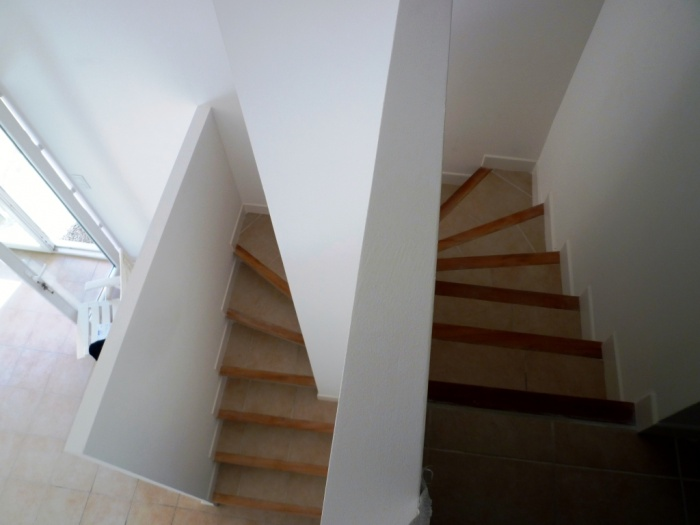 Extension de maison à Carcassonne : escalier