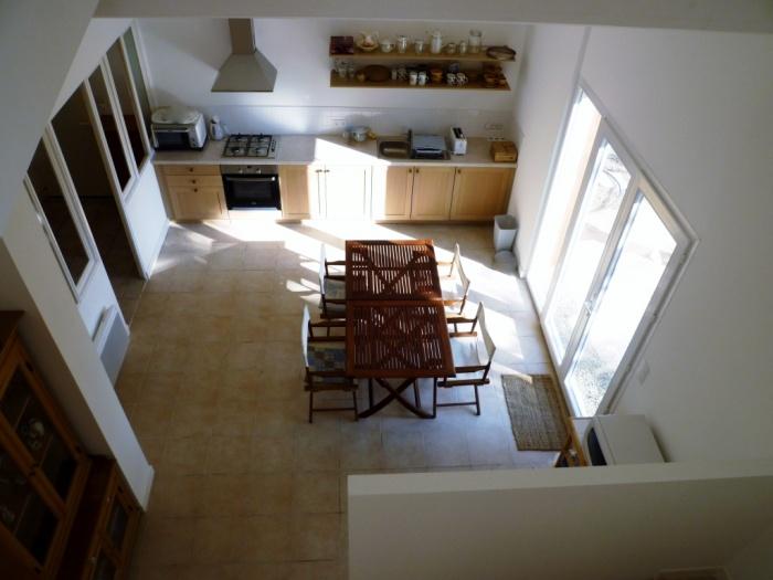 Extension de maison à Carcassonne : vue sur séjour