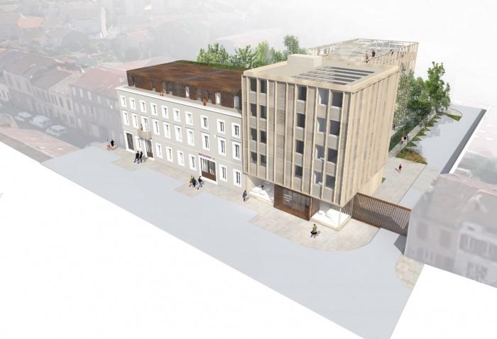 Transformation d'un bâtiment de bureaux en Résidence Hôtelière à Albi : image_projet_mini_84151
