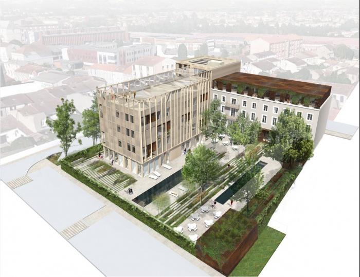 architectes centre de convention de blagnac blagnac. Black Bedroom Furniture Sets. Home Design Ideas