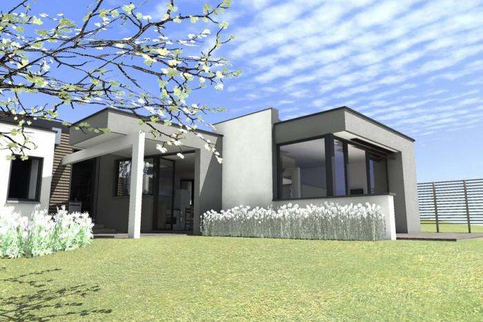 342 maisons contemporaines d 39 architectes page 2. Black Bedroom Furniture Sets. Home Design Ideas