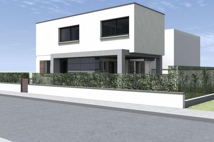 Surélévation pour une maison Individuelle : Bousquet-EXT Route_1.jpg