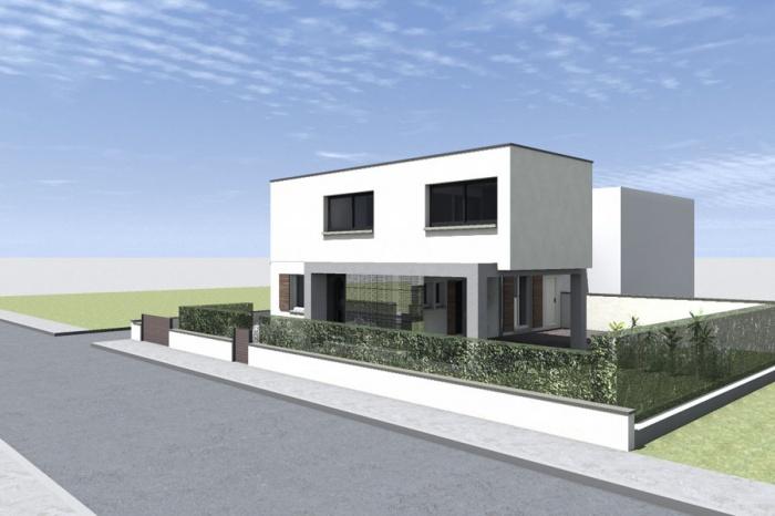 Surélévation pour une maison Individuelle : Bousquet-EXT Route_3.jpg