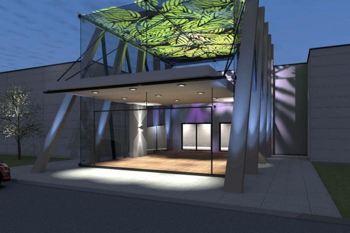 architectes entr e de magasin de meubles portet sur garonne. Black Bedroom Furniture Sets. Home Design Ideas