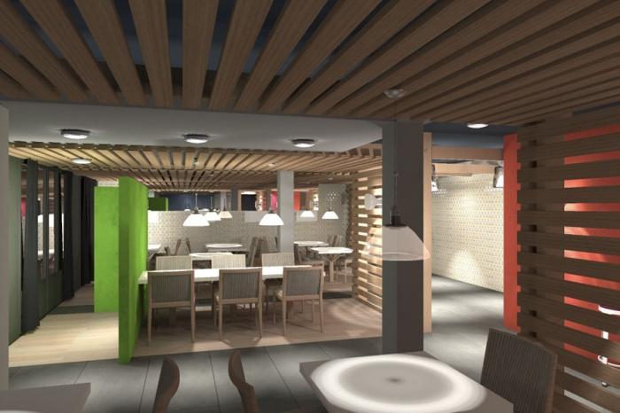Transformation d'un restaurant : Jinji-salle 1