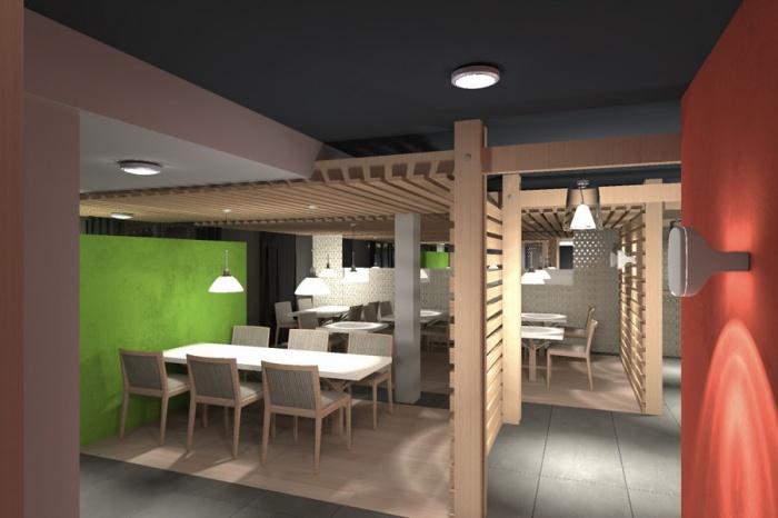 Transformation d'un restaurant : Jinji-bar 1
