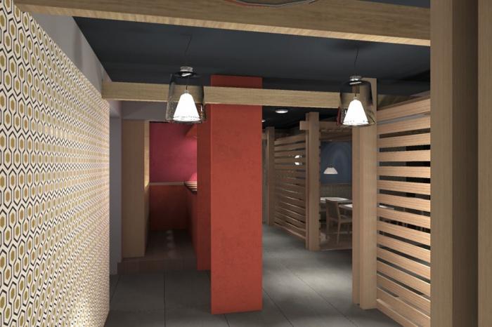 Transformation d'un restaurant : Jinji-passage 1