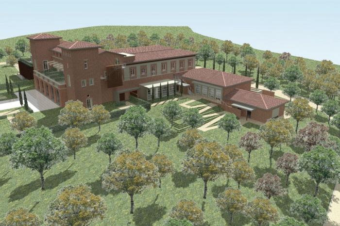 Transformation d'un château en hôtel de luxe : 489-Château Armurier-Jardin 3