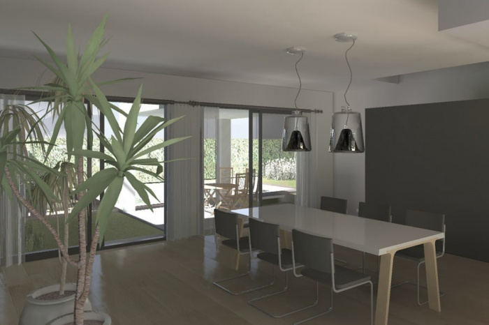 r sidence principale albi une r alisation de koba architecture. Black Bedroom Furniture Sets. Home Design Ideas