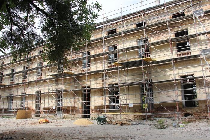 Réhabilitation du Chateau de Drudas : Chateau de drudas (32).JPG