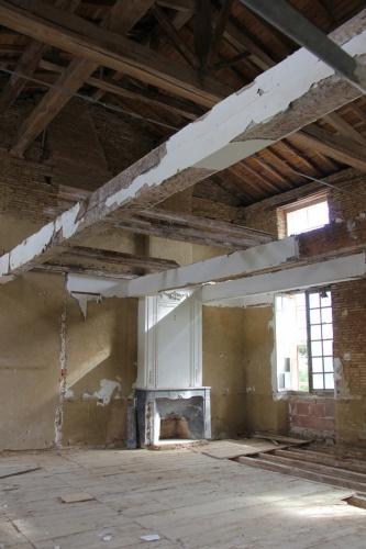 Réhabilitation du Chateau de Drudas : Chateau de drudas (18).JPG
