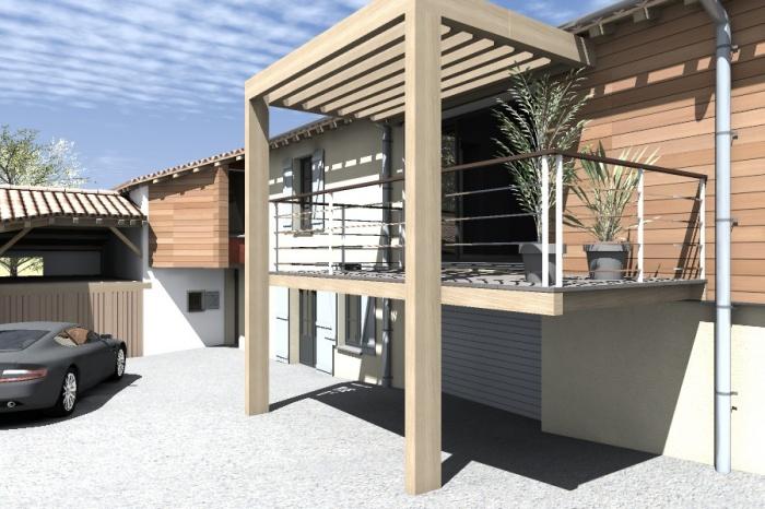 Réaménagement et extension d'une bâtisse : Claudel-PRJT-EXT_3