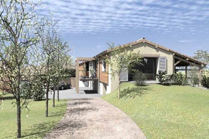 Réaménagement et extension d'une bâtisse : Claudel-PRJT-EXT_4