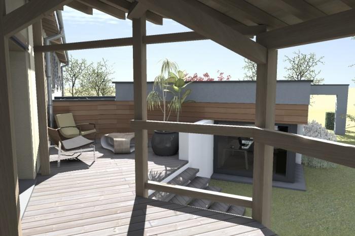 Réaménagement et extension d'une bâtisse : Claudel-PRJT-EXT_1
