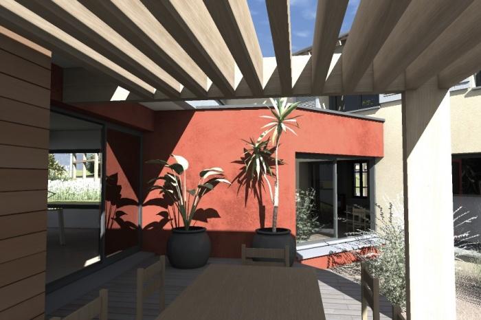 Réaménagement et extension d'une bâtisse : Claudel-PRJT-EXT_7