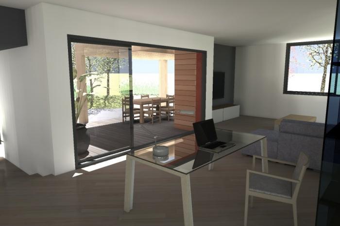 Réaménagement et extension d'une bâtisse : Claudel-PRJT-SALON 2_1