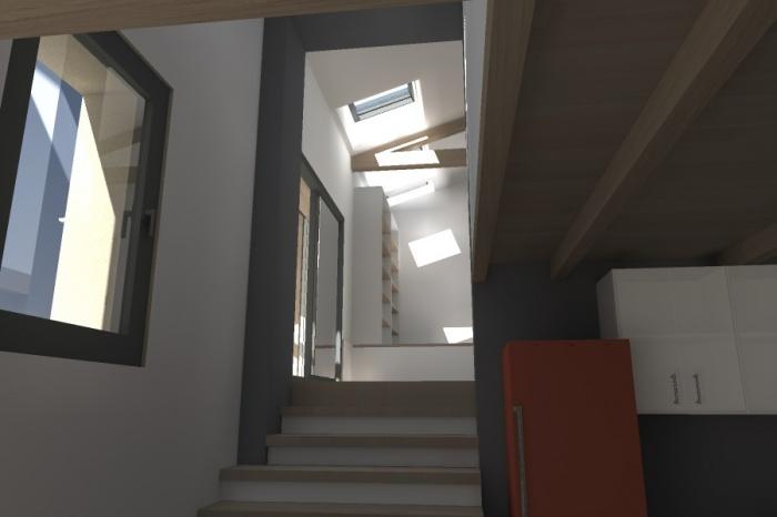 Réaménagement et extension d'une bâtisse : Claudel-PRJT-CUISINE_3