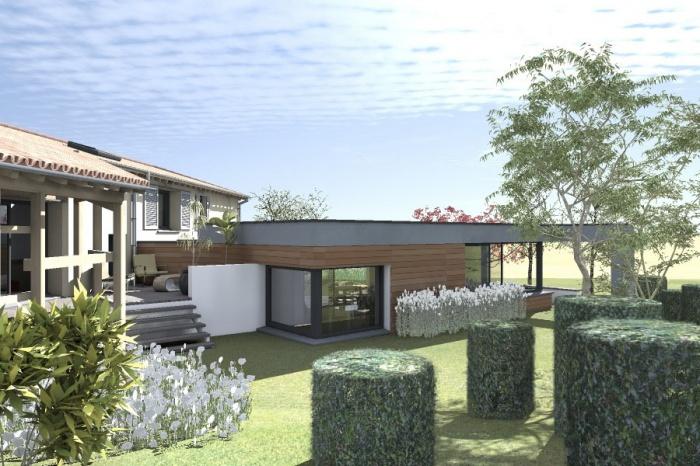 Réaménagement et extension d'une bâtisse : Claudel-PRJT-EXT_5