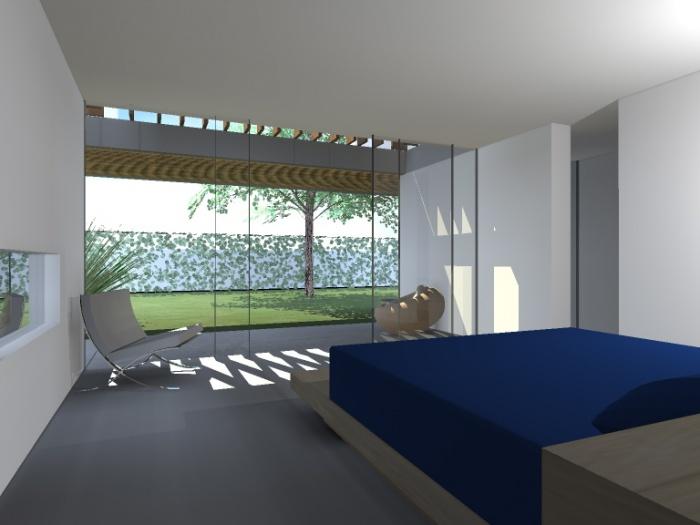 vue chambre principale