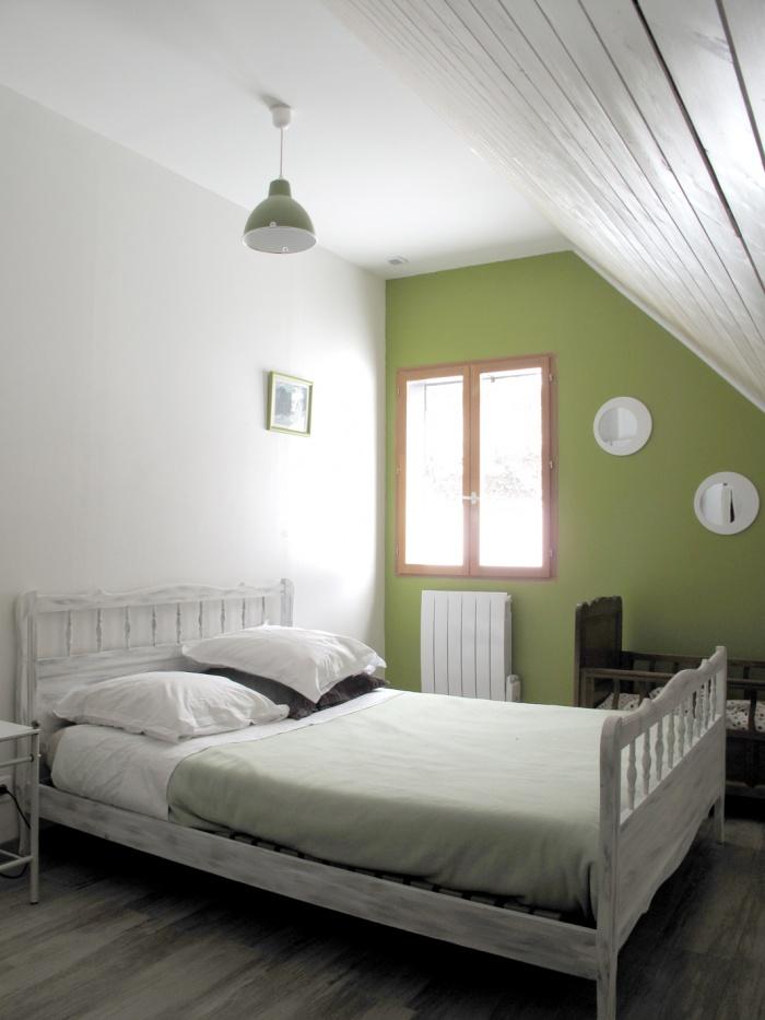 Maison N : chambre