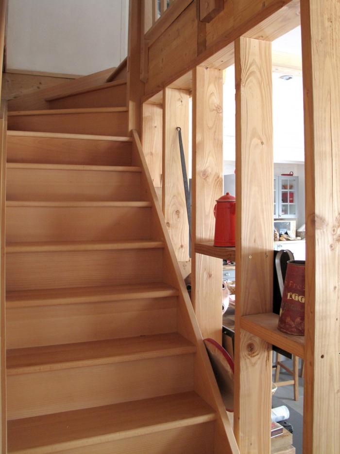 Maison N : escalier